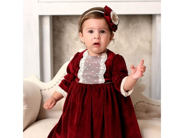 Rochie botez fetita Cristiana