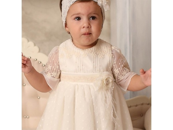 Rochie botez fetita Cleopatra