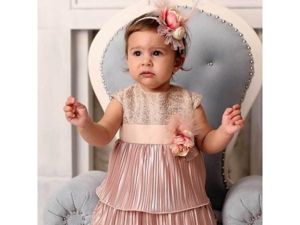 Rochie botez fetita Renata