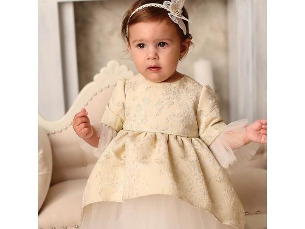 Rochie botez fetita Rania