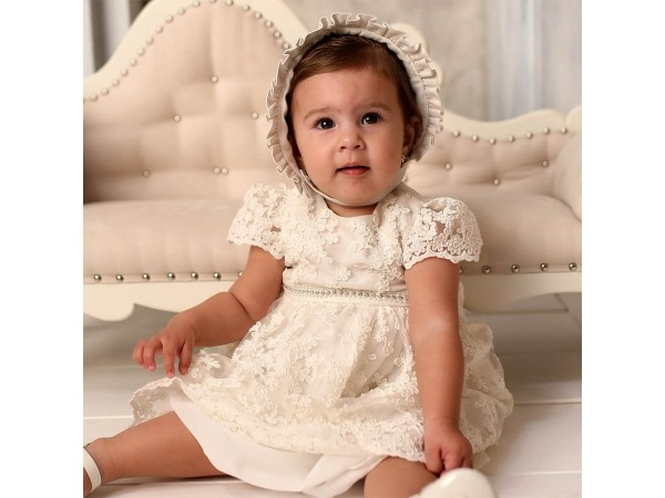 Rochie botez fetita Agatha
