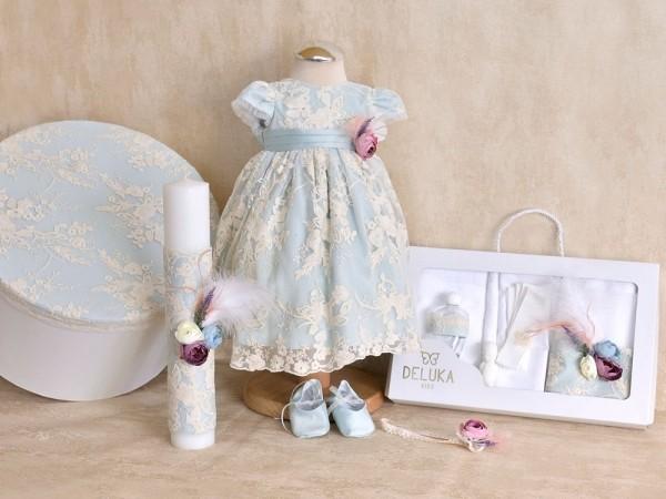 Set complet botez fetita Otilia Mint