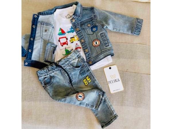 Set din blug cu tricou 917-2002AA/917-1202AA/917-6032AA
