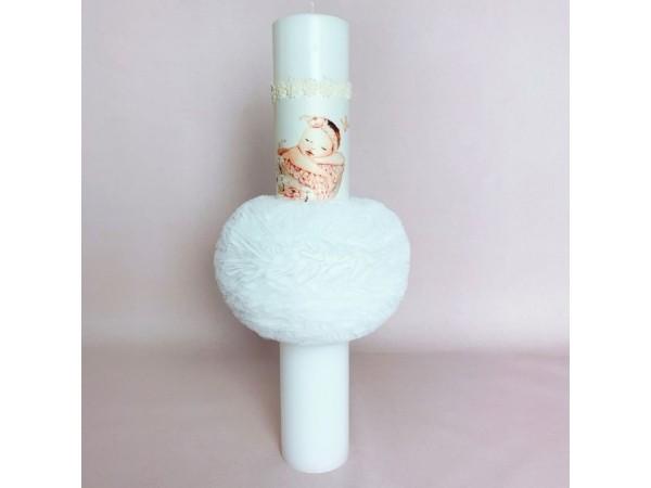 Lumanare Cotton Blush