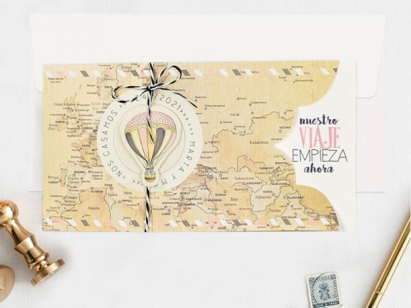 Invitatie De Nunta Calatorie 39703 Deluxe Cards