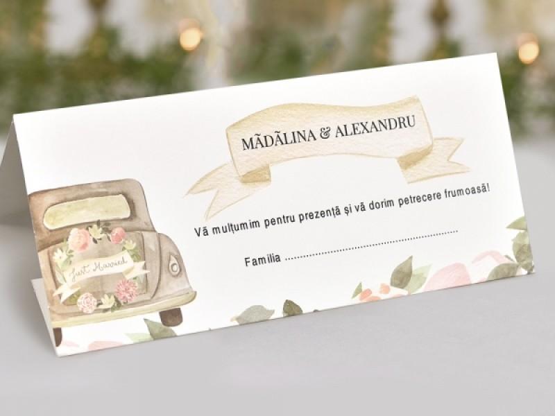 Invitatie De Nunta Vintage 39727 39727 Deluxe Cards