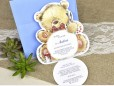 Invitatie de botez ursulet bleu