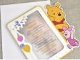 Invitatie de botez Winnie si Piglet