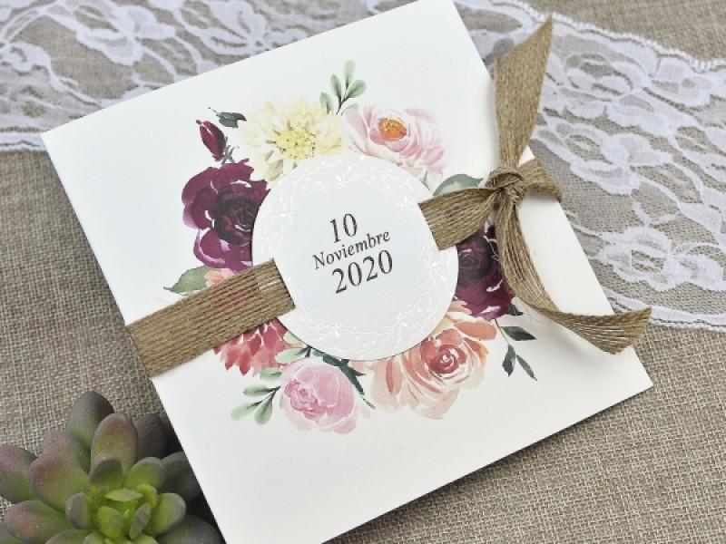 Invitatie De Nunta Cu Flori 39622 Deluxe Cards